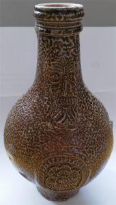 Bellarmine jug found at the Peacock Hotel, Market Harborough